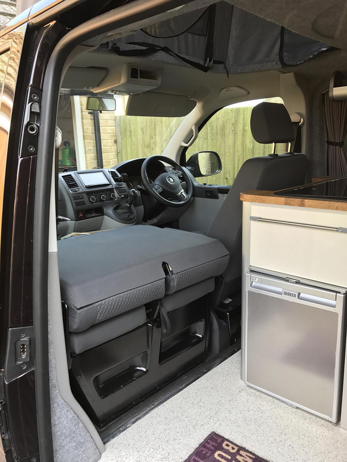 Folding T5 Double Front Seat Conversion